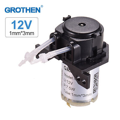 £9.69 • Buy GROTHEN 12V DC Dosing Pump Peristaltic For Analytical Water Aquarium Lab Tool