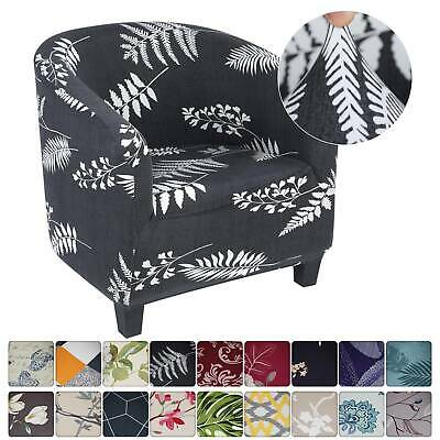 £12.72 • Buy Tub Chair Covers Slipcovers Elastic Polyester Fabric Armchair Sofa Seat Cover ^