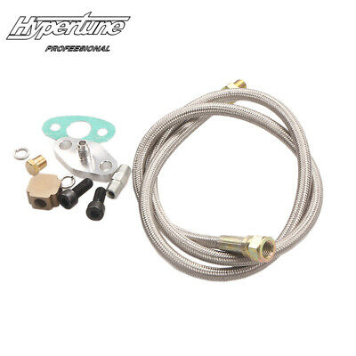 $19.90 • Buy Turbo Turbocharger Oil Inlet Feed Line Adapter Fittings Kit GT32 GT40 GT42