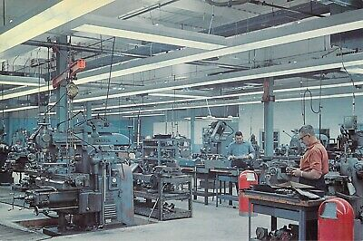 $7.99 • Buy OH Cleveland ERICKSON TOOL Machine Shop 6x9 Back Is Advertising For Lighting