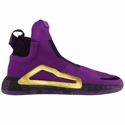 AU182.19 • Buy Adidas Sm N3xt L3v3l   Mens Basketball Sneakers Shoes Casual   - Purple - Size