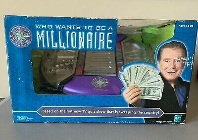 £27.68 • Buy NEW  2001 Tiger Electronics Who Wants To Be A Millionaire Electronic Game HASBRO