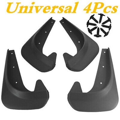 $20.60 • Buy EVA Plastic Wearing Mud Flaps Splash Guards Fit For Car Front & Rear Fender 4PCS