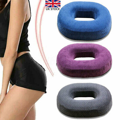 £11.50 • Buy Round Memory Foam Seat Car Chair Cushion Coccyx Pain Relief Seats Support Pillow