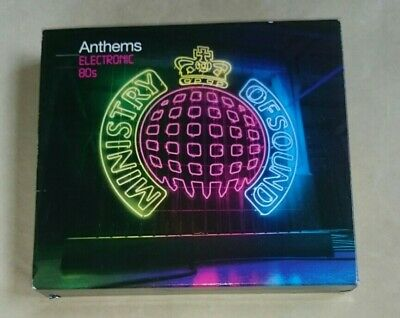£4.99 • Buy Ministry Of Sound Anthems: Electronic 80s 3 CD Set Best Of Greatest Hits