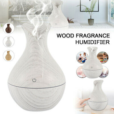 AU13.99 • Buy Electric Oil Humidifier Air Diffuser Aroma LED Light Up USB Bedroom Relaxing