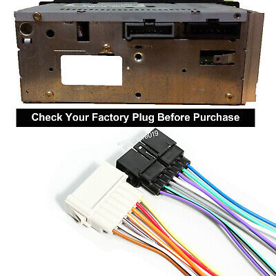 $9.59 • Buy Aftermarket Radio Install Wire Harness Stereo Connector For Dodge Ram 1984-2002