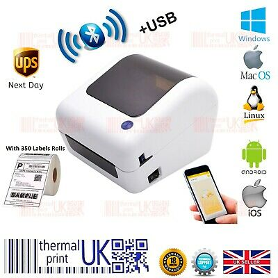 £87.99 • Buy BEEPRT® Direct Thermal Shipping 4x6 Label Printer Bluetooth With Label Rolls