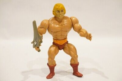 $34.99 • Buy Masters Of The Universe HE-MAN Action Figure MOTU 1982 STAFF W/ SWORD MEXICO