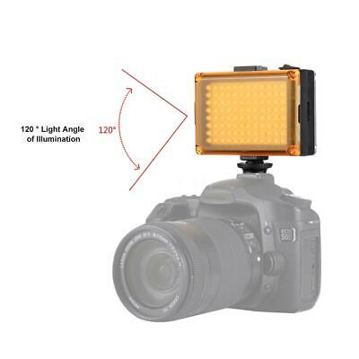 Dimmable 104LED Video Light Photo Camera Cold Shoe Lamp For Camcorder DV 120° • 11.48£