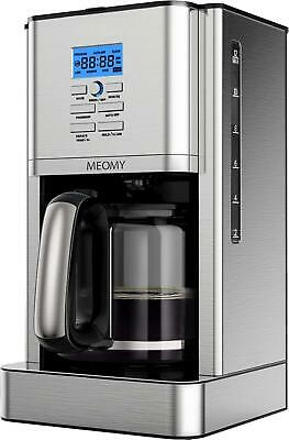 View Details  MEOMY Coffee Maker, 12 Cups Programmable Stainless Steel Coffee Machines, Drip • 56.54£