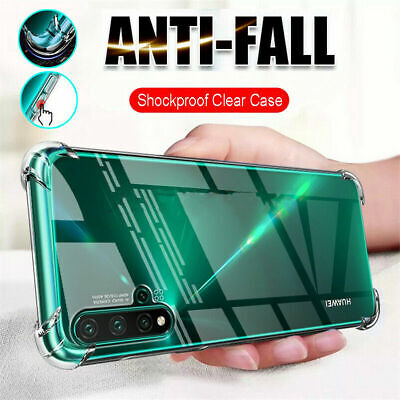 £2.99 • Buy For Huawei P20 P30 Pro P40 Lite Clear Shockproof Bumper Silicon Gel Case Cover