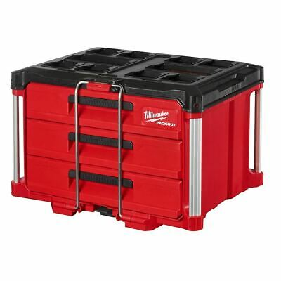 View Details Milwaukee 48-22-8443 PACKOUT 3-Drawer Tool Box • 169.99$