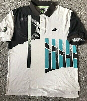 £169.99 • Buy **andre Agassi Authentic Nike Challenge Official Nike Tennis Shirt Size Medium**