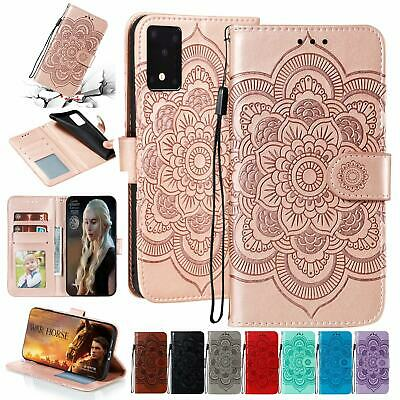 AU10.96 • Buy For Samsung Galaxy S20 FE 5G S21 Ultra S20 Plus S10 S9 Wallet Leather Case Cover