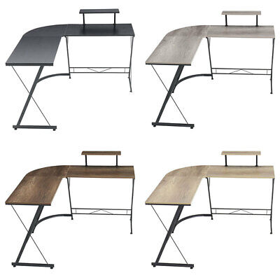 £55.95 • Buy L-shaped Corner Computer Desk Home Office Study Gaming Working Table Workstation