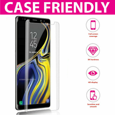 $ CDN2.42 • Buy For Samsung Galaxy S8 S9 Plus 5D Genuine 100% Tempered Glass Screen Protector