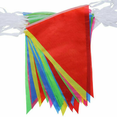 £1.85 • Buy 33 Feet 20 Flags Multi Colour Banner Bunting Party Home Garden Decoration Banner