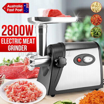 AU40.98 • Buy 2800W Electric Stainless Meat Grinder Mincer Sausage Filler Maker Machine AU