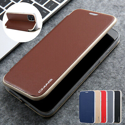 AU13.99 • Buy For IPhone 12 Pro Max 11 8 7 XS XR Case Magnetic Leather Wallet Slim Flip Cover