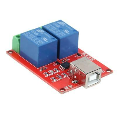 £5.63 • Buy 5V 2 Channel Driver-Free USB Smart Control Switch Relay Module For PC☪