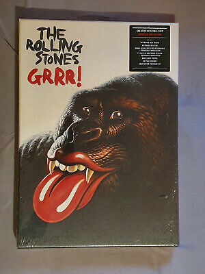 £196.72 • Buy NEU: The Rolling Stones: GRRR! Super Deluxe Edition; 5 CDs , 1 Vinyl EP And More