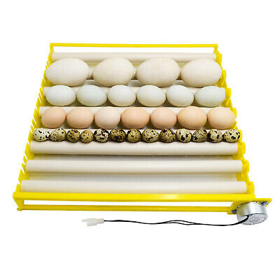AU30.62 • Buy Egg Incubator Tray Rotary Automatic Egg Turner For Duck Goose 7 Tubes
