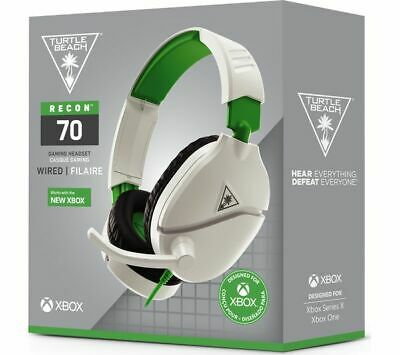 $13.89 • Buy Turtle Beach Recon 70X Black White Gaming Headset Switch PS4 PS5 Xbox One PC
