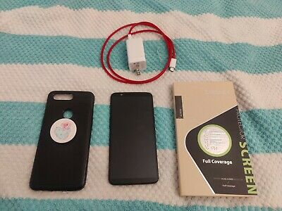 AU209.89 • Buy OnePlus 5T Unlocked Midnight Black Phone / 128GB / Excellent Condition + Extras!