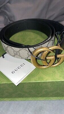 AU392.39 • Buy Brand New Womens Gucci Gg Belt With Tags Luxury Grab A Bargain! Rrp £260