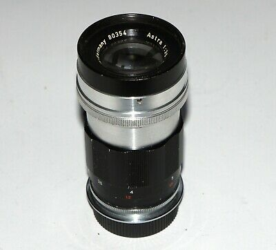$750 • Buy VERY RARE ASTRA BERLIN-GERMANY 100 Mm F3.5 LENS LEICA M39 Rangefinder COUPLED!