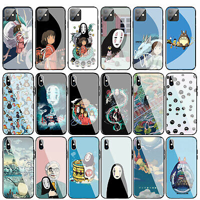£4.59 • Buy Spirited Away Totoro Glass Case For IPhone 11 Pro XR X XS Max 8 7 6 6S Plus 7+ +