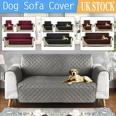 £12.99 • Buy Quilted Sofa Cover Furniture Protector Throw Waterproof Sofa Slip Covers 3 Sizes