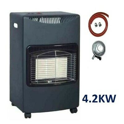 DENTED/NEW 4.2KW Glow Warm Heating Essentials Cabinet Portable Calor Gas Heater  • 69.99£