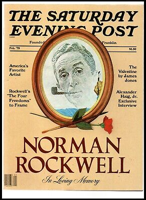 $ CDN18.75 • Buy THE SATURDAY EVENING POST - Norman Rockwell Memorial Edition - Feb. 1979