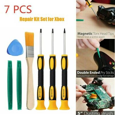 £3.69 • Buy 7Pcs For PS3/PS4 Xbox One /Xbox 360 Controller Screwdriver Tool Repair Kit Set