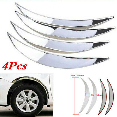 $ CDN33.86 • Buy Wheel Eyebrow Arch Lips Trim Cover Fit For Car Truck SUV Fender Flares Protector