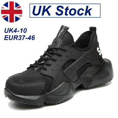 AU47.46 • Buy Steel Toe Cap Lightweight Safety Trainers Women/Mens Work Shoes Hiking Boots UK