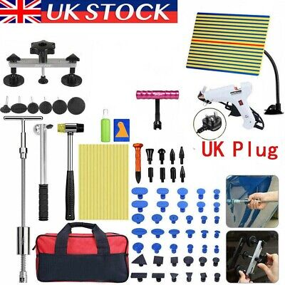 81× UK PDR Tools Dent Puller Lifter Auto Paintless Hail Removal Glue Gun Hammer • 43.99£