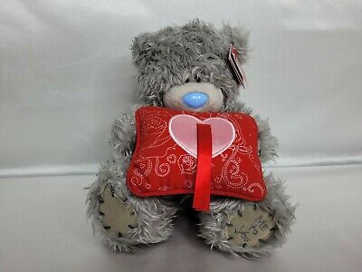 £10.81 • Buy ME TO YOU BLUE NOSE TATTY TEDDY BEAR WITH HEART PILLOW - CARTE BLANCHE 16cm