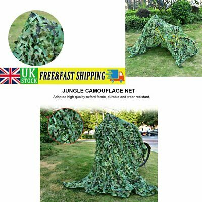 £8.91 • Buy Army Camouflage Net Camo Netting Camping Shooting Hunting Hide Woodland 1.5M*5M