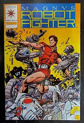 $24.99 • Buy Magnus Robot Fighter #0  (1992) Dealer Incentive Issue With Trading Card