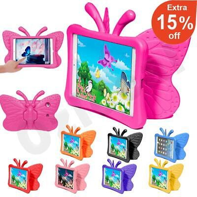 AU14.59 • Buy Kids Shockproof Heavy Duty 3D Butterfly Tough Case Cover For IPad 8th 7th Gen