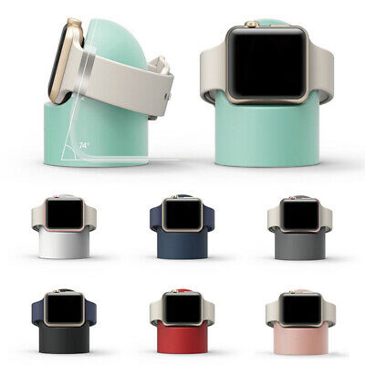 AU6.79 • Buy Charger Stand Mount Silicone Dock Holder For Apple Watch Series Charge Cable