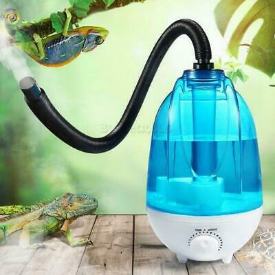 £40.69 • Buy 4L Auto Reservoir Reptile Air Humidifier Mister Fogger Fog Machine With Hose