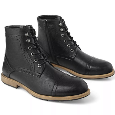 $18.99 • Buy Golaiman Kennard Men's Chukka Derby Boots Dress Ankle Brogue Boot Mid-top
