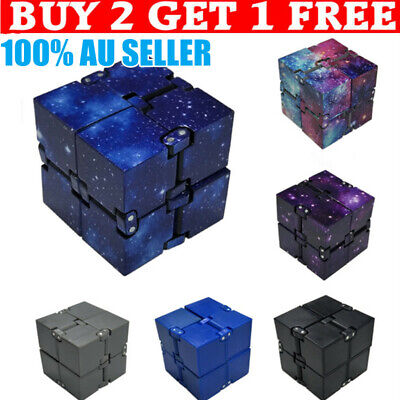 AU8.71 • Buy Infinity Cube Fidget Toys Magic Puzzle Sensory Autism Anxiety ADHD Stress Relief