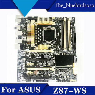 AU771.17 • Buy For ASUS Z87-WS LGA1150 DDR3 ATX Motherboard Tested