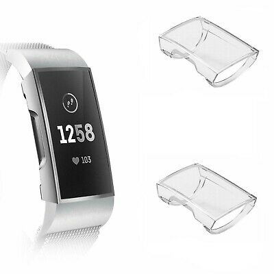 $ CDN10.84 • Buy 2 PCS, Fitbit Charge 3 & 4 Screen Protector, Clear, Without Tracker Accessories.