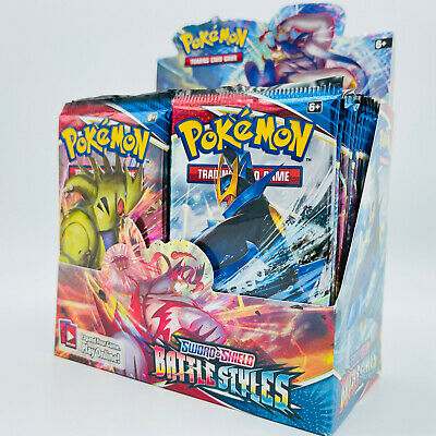 $49.99 • Buy 10 Battle Styles Booster Pack Lot - From Factory Sealed Pokemon Booster Box